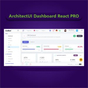 ArchitectUI Dashboard React PRO