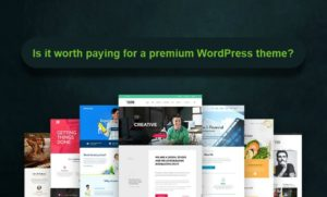 Is it worth paying for a premium WordPress theme?