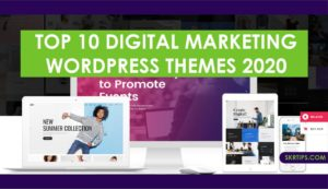 Top 10 digital marketing WordPress themes 2020